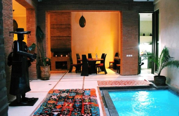 Very high quality riad guest house for sale