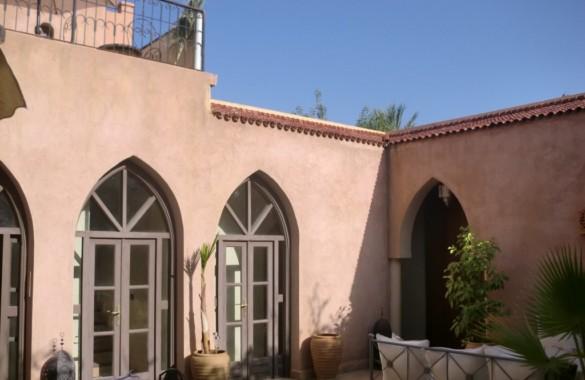 Villa – riad en palmeraie avec 4 chambres doubles