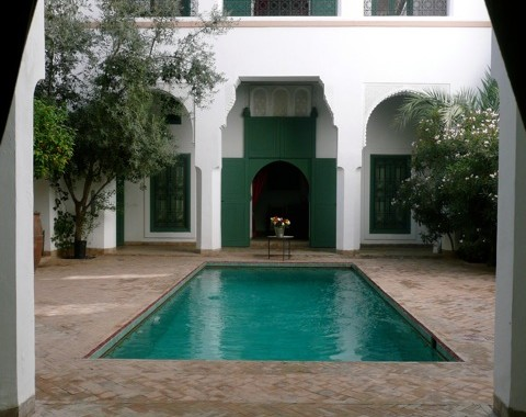 Exceptional  riad  with huge courtyard
