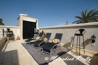 Riad for rent, Sidi Mimoun area, retractable roof