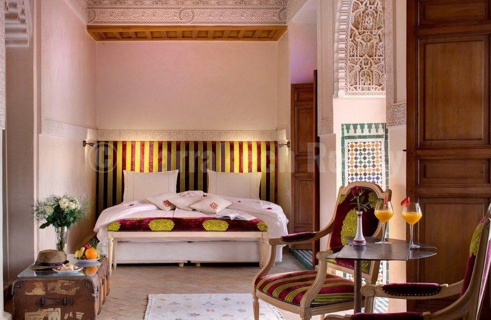 Riad historique à la vente en Medina de Marrakech