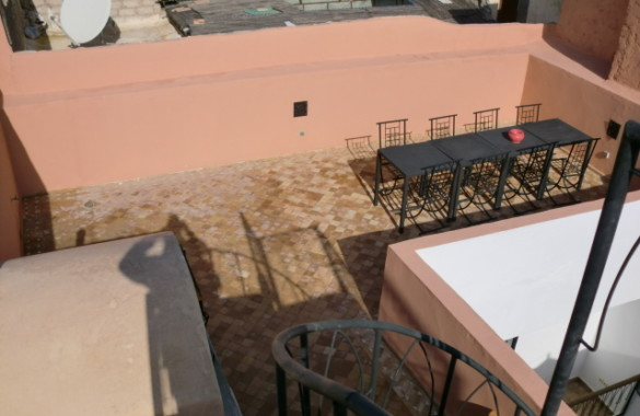 Titled riad with view