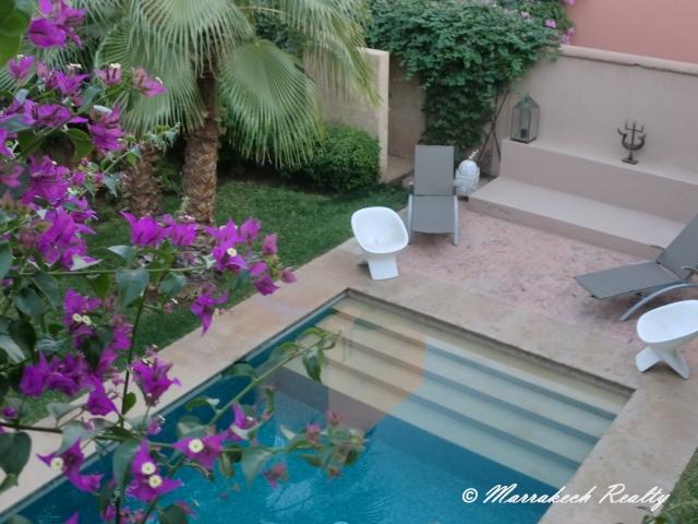 Villa moderne à Marrakech à louer en longue durée