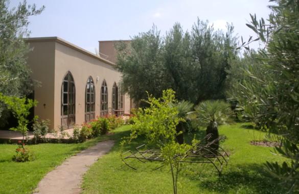 Villa proche Marrakech avec piscine interieure
