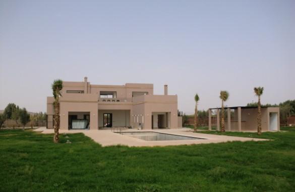Villa très calme dans un domaine  ,vendue sur plan , choix gros oeuvre et finitions