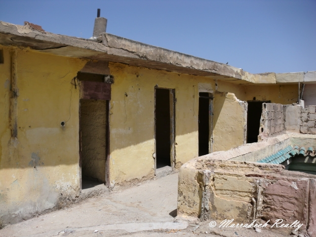Belle maison ancienne dans le Mellah