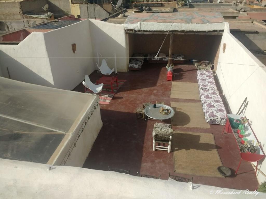 Riad avec tres belle terrasse