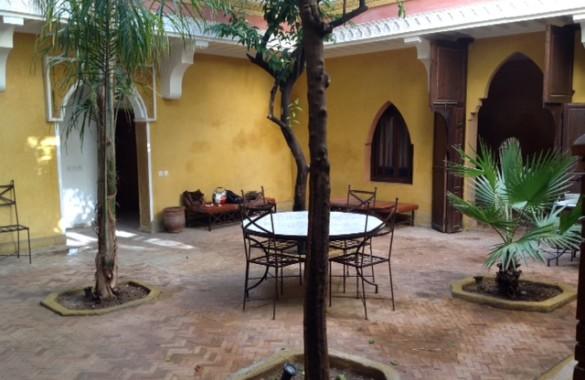 Large courtyard riad