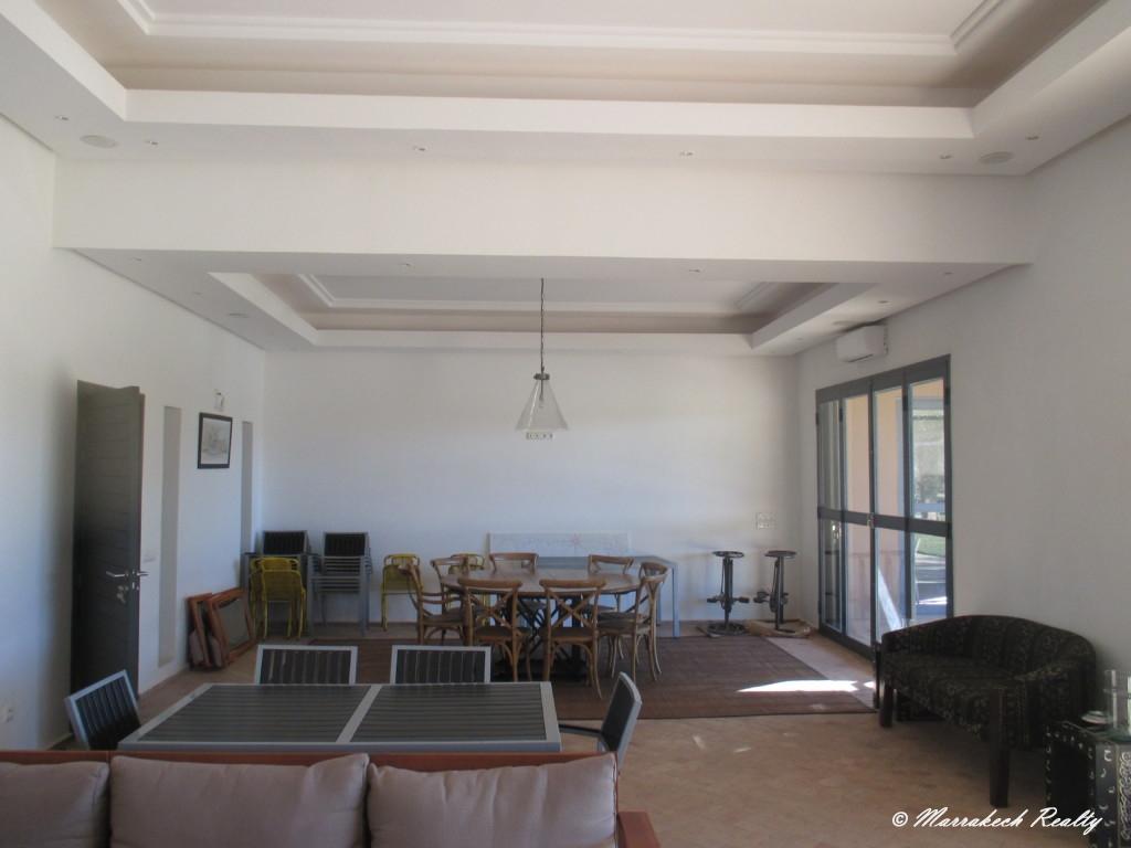 Belle villa contemporaine de 5 chambres avec vue Atlas