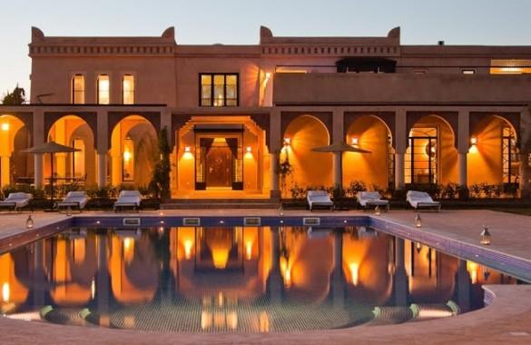 Villa de Prestige et de luxe à vendre sur Marrakech