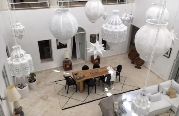Original Riad rénové à vendre dans un excellent quartier de Marrakech