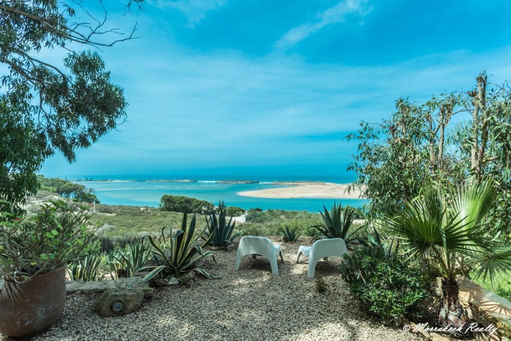 Superbe villa moderniste avec vue exceptionnelle sur la lagune de Oualidia