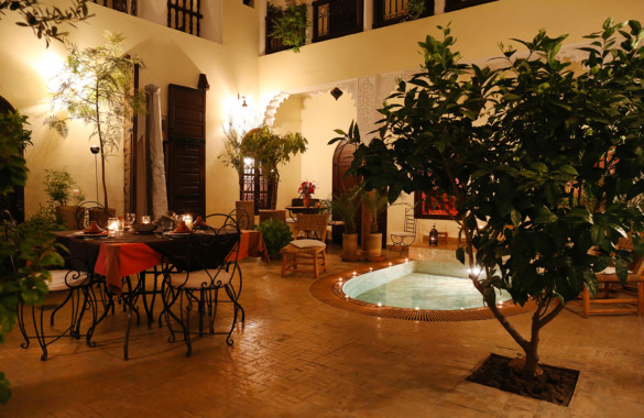 Large courtyard Riad