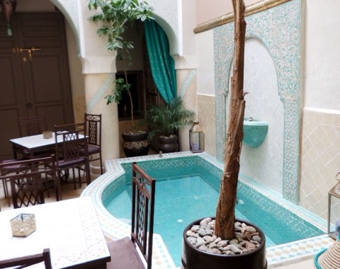 lovely riad well located