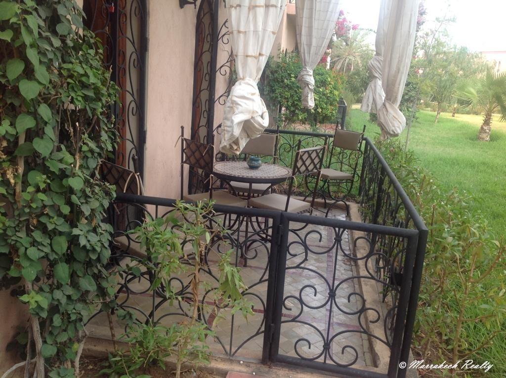 Appartement Palmeraie en rez de jardin