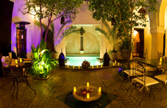 Beautifull boutique riad 2 courtyards