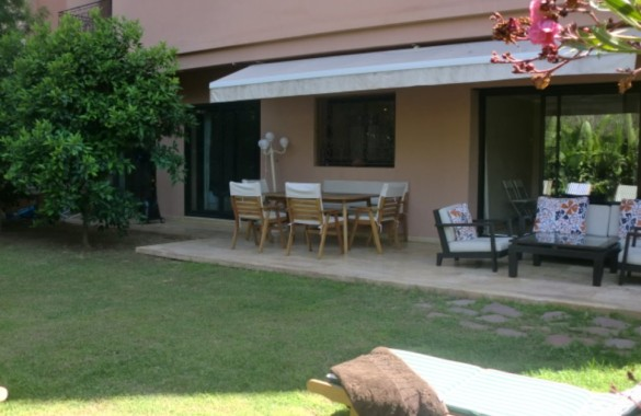 Appartement jardin Hivernage