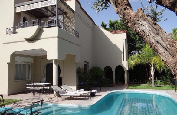 Villa moderne dans résidence