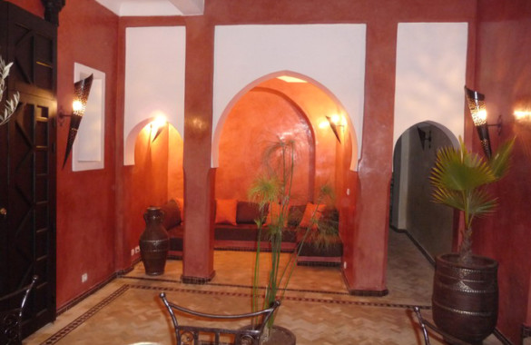 riad with fantastic view
