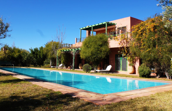 Lovely 4 bedroom villa for sale down the Atlas mountains