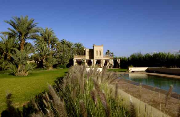 Ultra elegant understated property for sale in the Palmeraie of  Marrakech