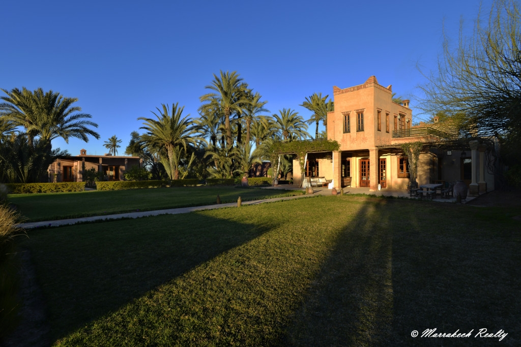 Superbe propriété de 7 chambres à vendre en Palmeraie