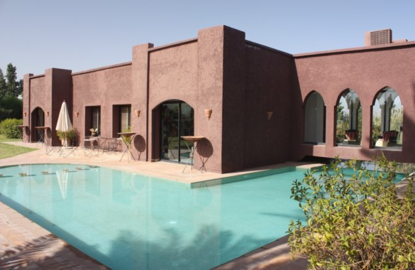 Beautiful contemporary 4 bedroom villa for sale in Marrakech