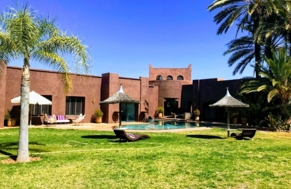 Beautiful contemporary 3 bedroom villa for rent long term in Marrakech
