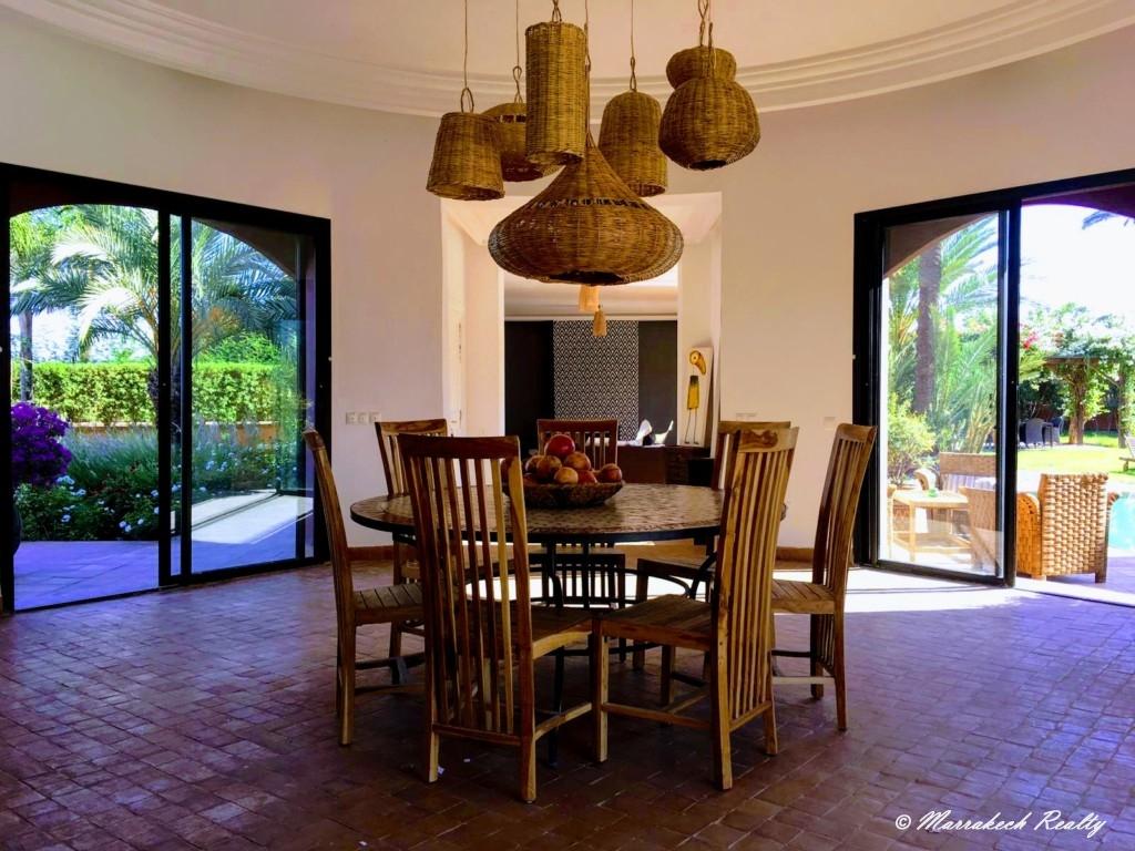 Belle villa contemporaine de 3 chambres proche de Marrakech