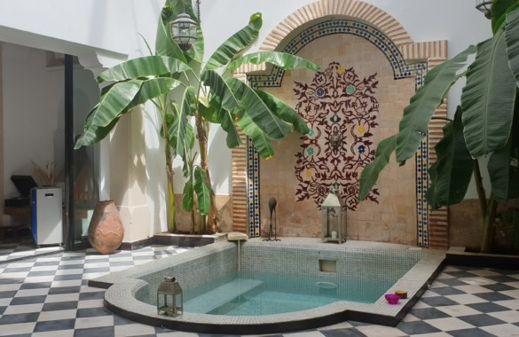 Nice Riad with triple courtyard for sale at Marrakech