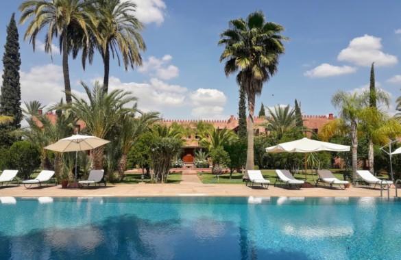 Pretty contemporary villa for rent in Marrakech