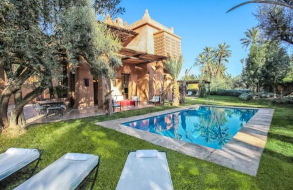 Superbe villa de 3 chambres de style Kasbah à vendre à proximité de Marrakech