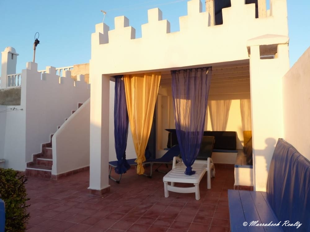 CharmantRiadavecvuesurl'océanà Essaouira