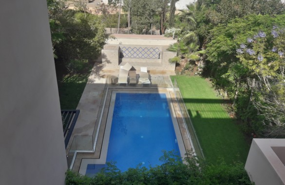Highend 3 bedroom villa with private pool in a gated community