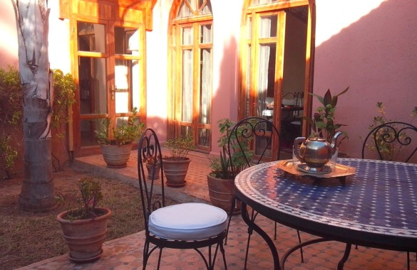 For sale villa 4 bedrooms in the Palm grove of Marrakesh
