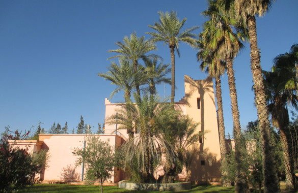 For sale property of two villas with great potential in Marrakech