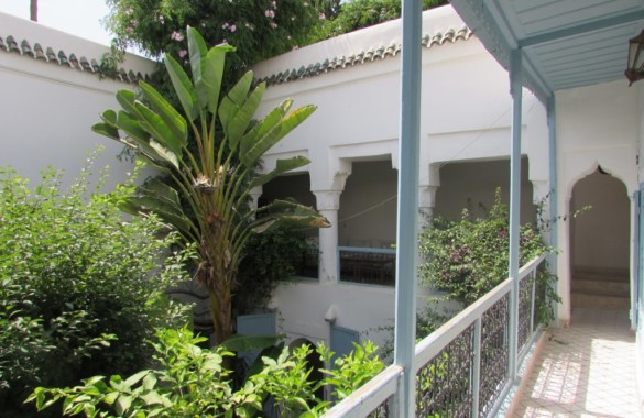 Lovely 3 bedroom Riad with view on a park