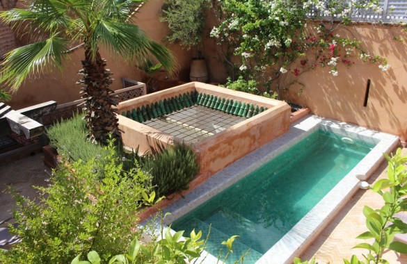 Superb 7 bedroom historical Riad for sale in the Medina of Marrakech