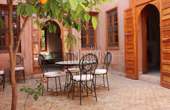 Villa à vendre dans un domaine sécurisé à deux pas du centre ville