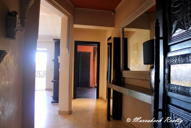Vaste appartement de 2 chambres à vendre au coeur de Gueliz