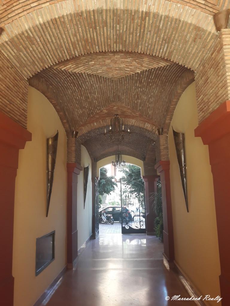 Appartement en centre ville de Marrakech