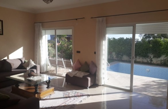 Villa for rent in golf residence at marrakesh