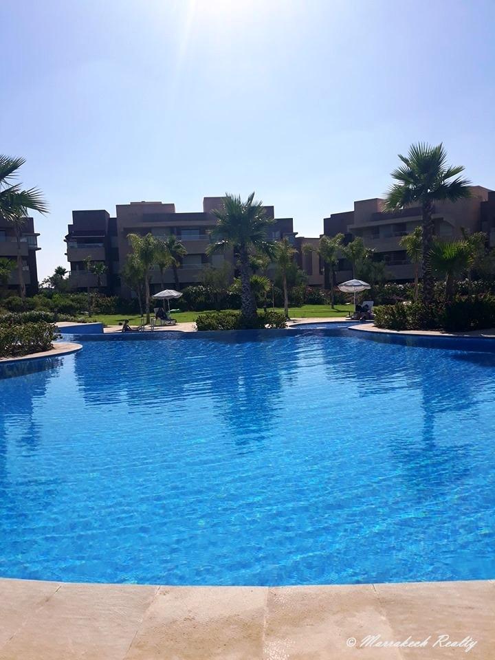 Appartement de 2 chambres à vendre dans un domaine sécurisé à Marrakech