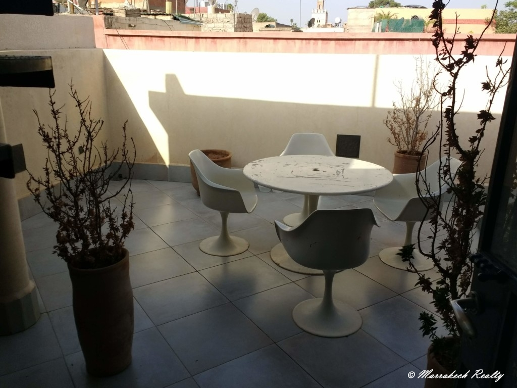 Lovely  contemporary three bedrooms riad with access for sale