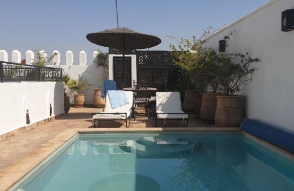Riad de 6 chambres avec piscine en terrasse et accès véhicule direct