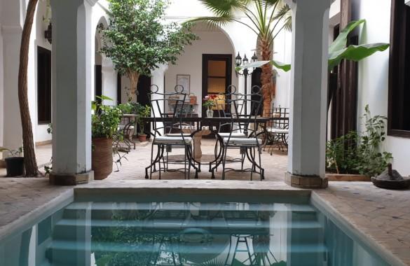 Riad Maison d'Hôtes de 8 chambres à vendre en Medina