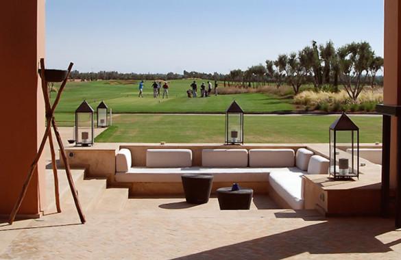 Belle Villa Ryad moderne située dans un domaine golfique