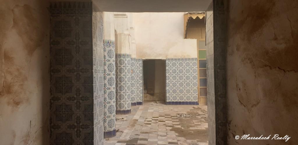 Beau Riad à rénover à vendre dans un quartier très recherché