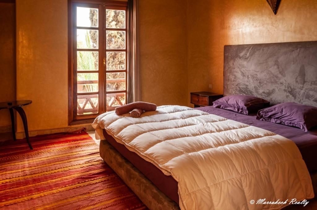 Villa Riad à vendre dans un beau domaine sécurisé