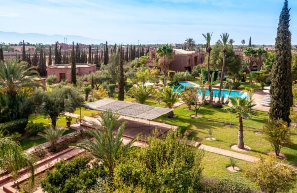 A louer, villa Riad de 3 chambres dans un beau domaine arboré